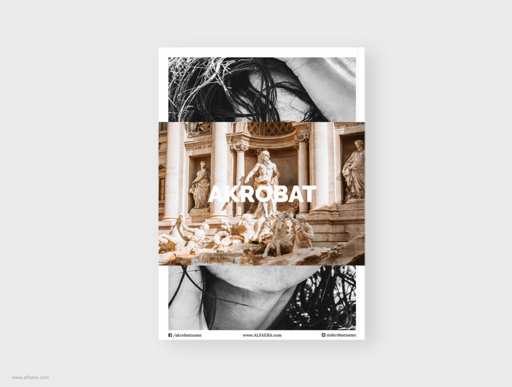 CorelDraw Magazine Template