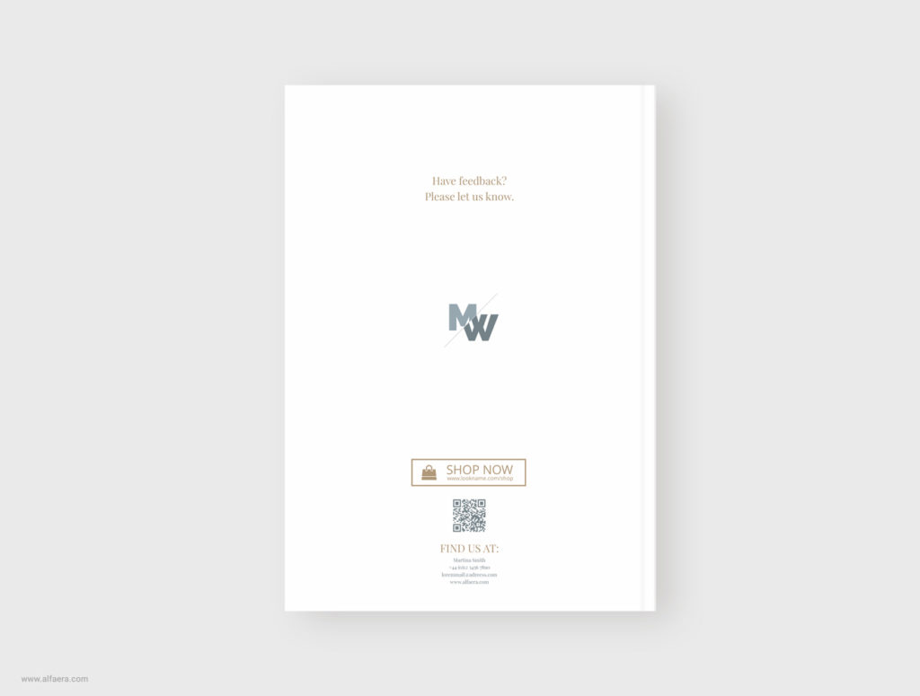 Back Cover Magazine Template