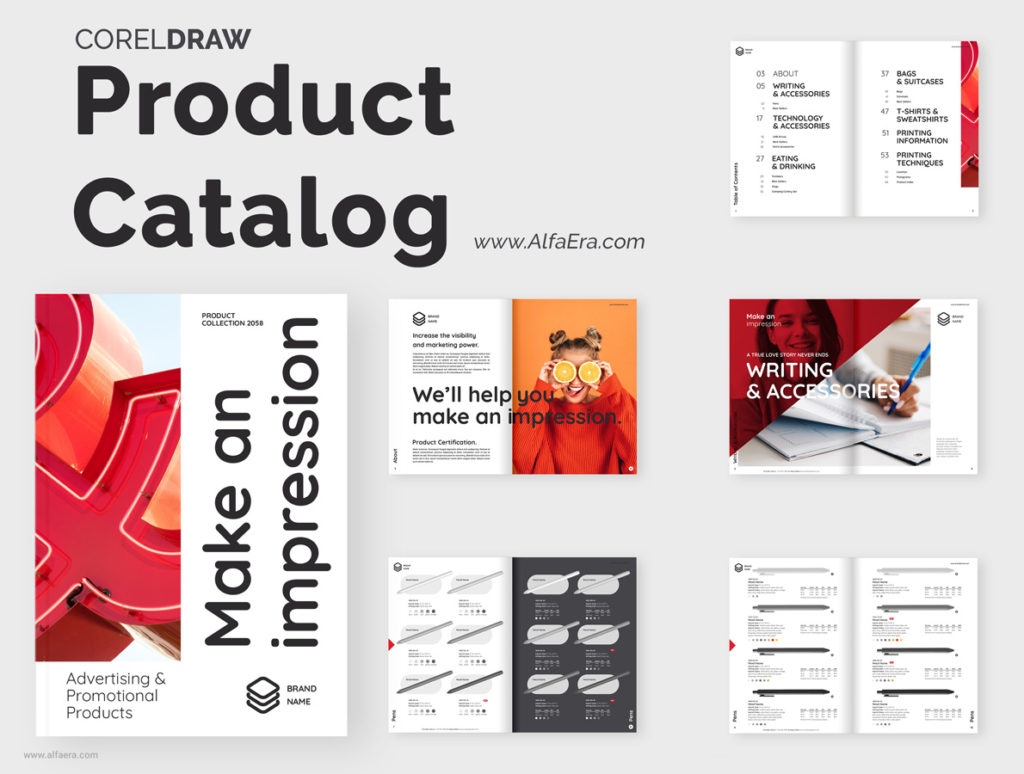 Promotional Products Brochure Template