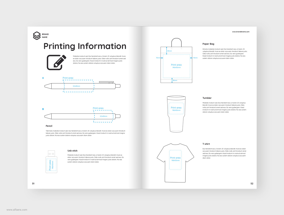Products Catalog Template CorelDraw