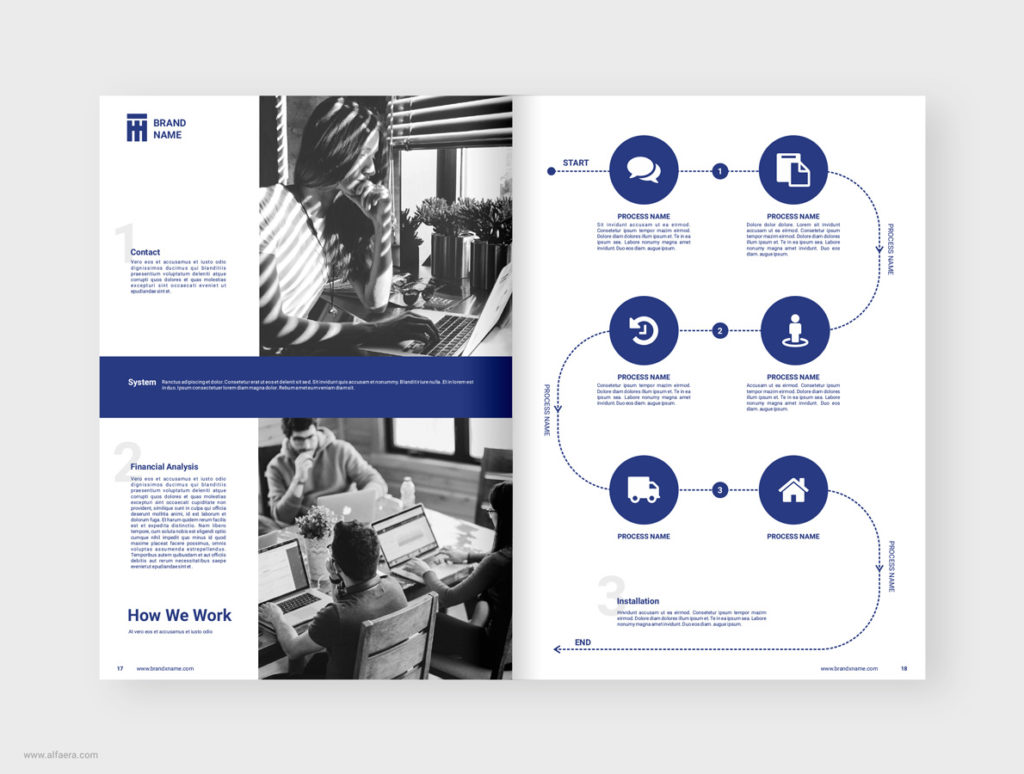 Agency Brochure Template CorelDraw