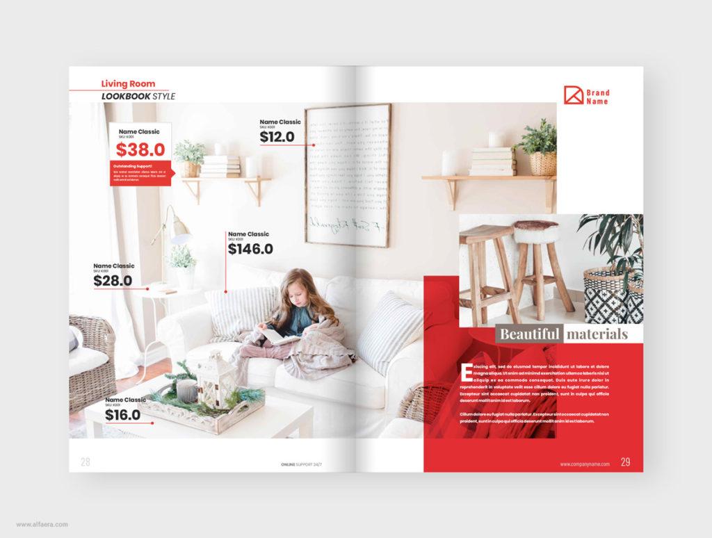 Ikea Style Catalog Template