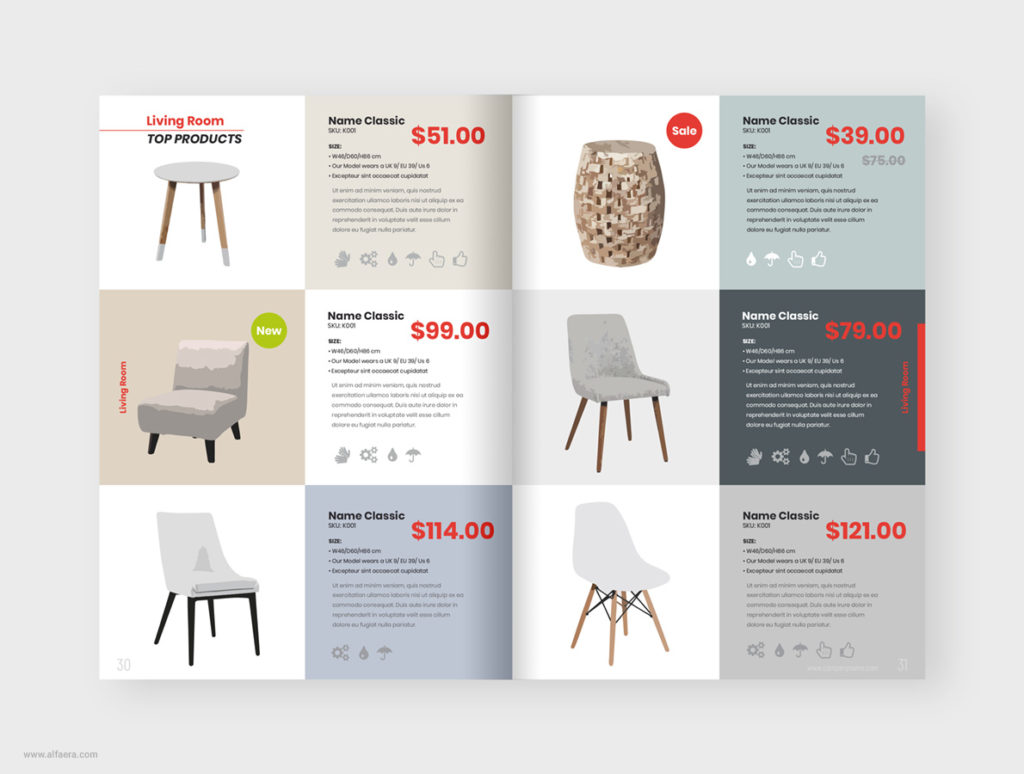 New Product Catalog Template