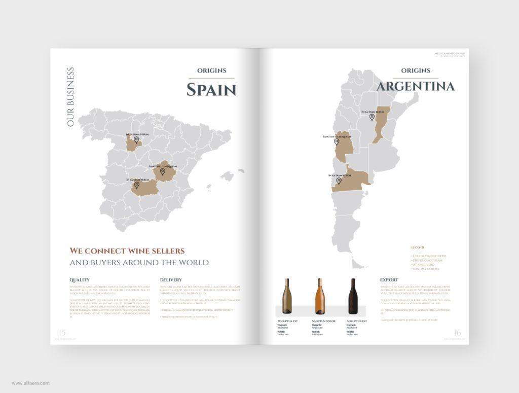 Wine Catalog Template