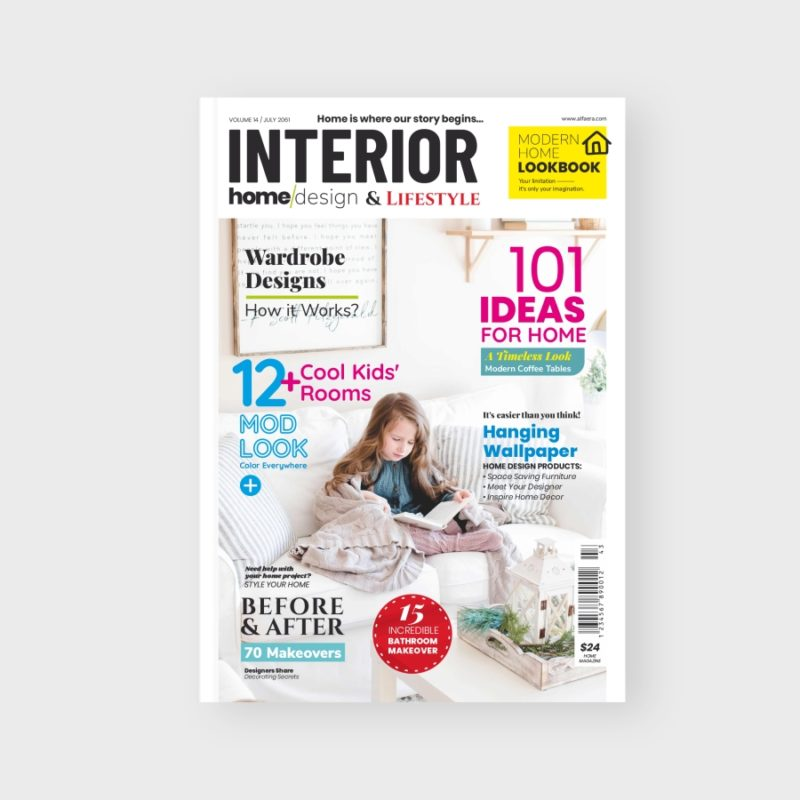 Home Interior Magazine Template