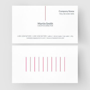 Business Card CorelDraw Template