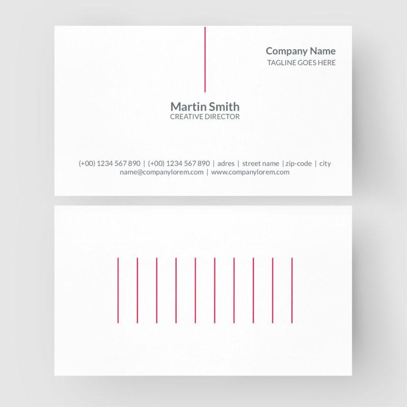 Business Card CorelDraw Template