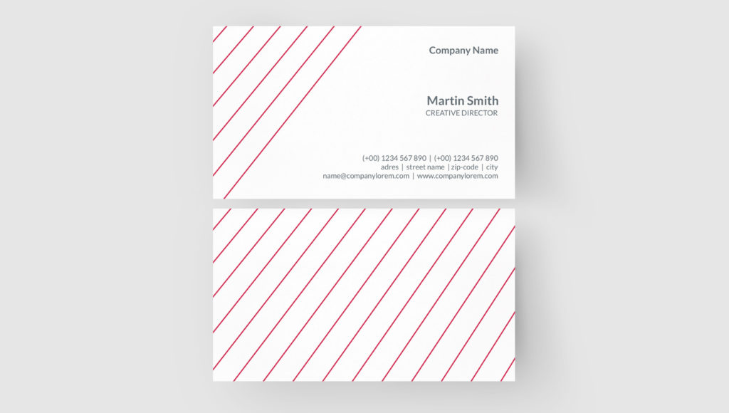 Business Card Template Coreldraw