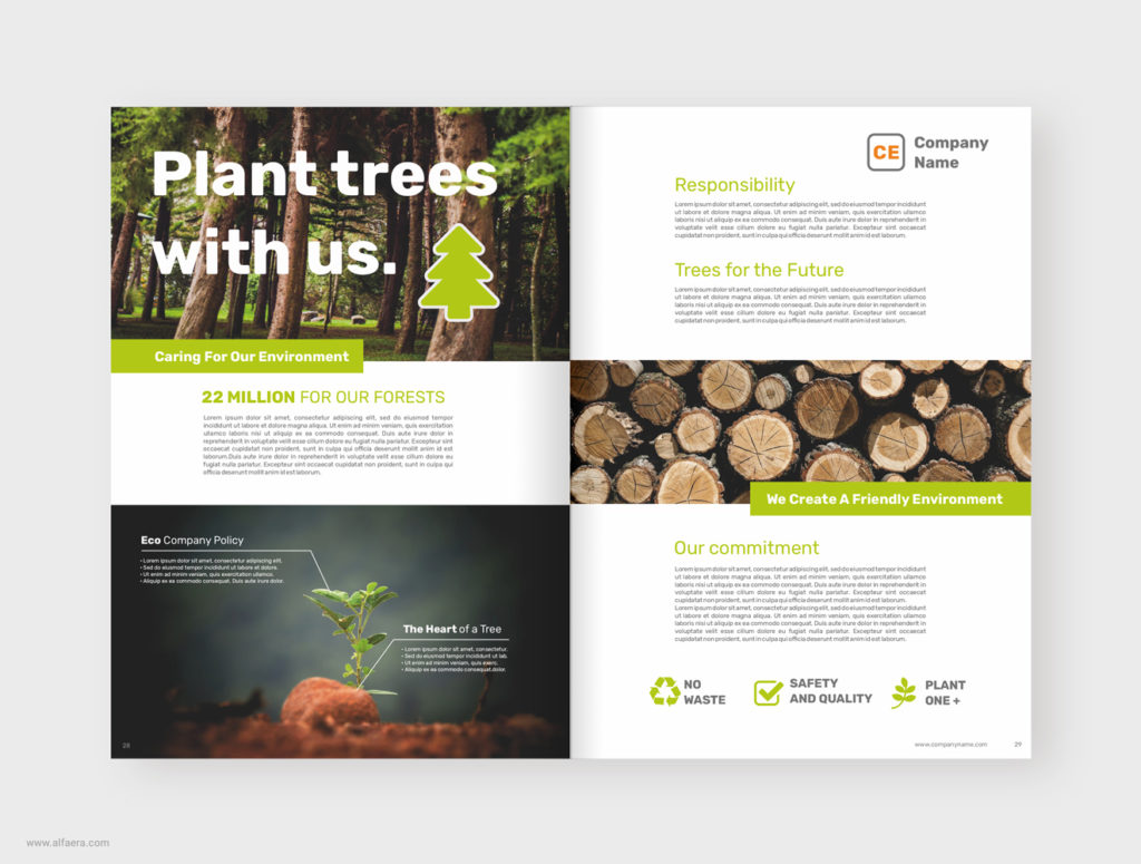Eco Brochure Template