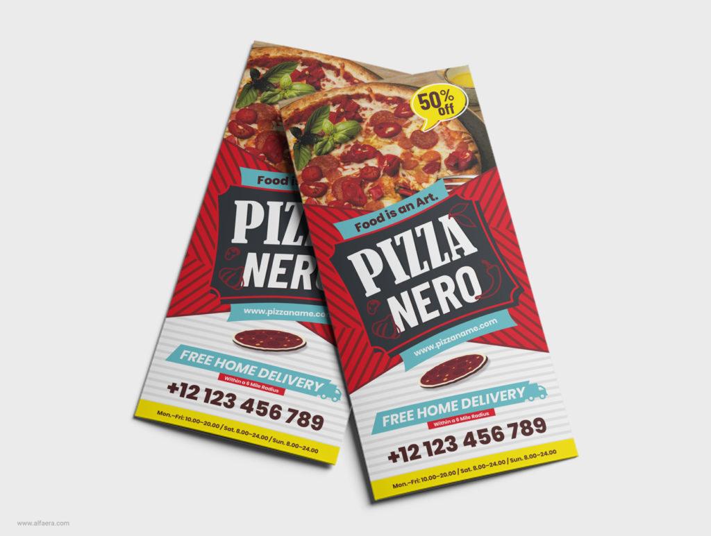 Pizza Template CorelDRAW