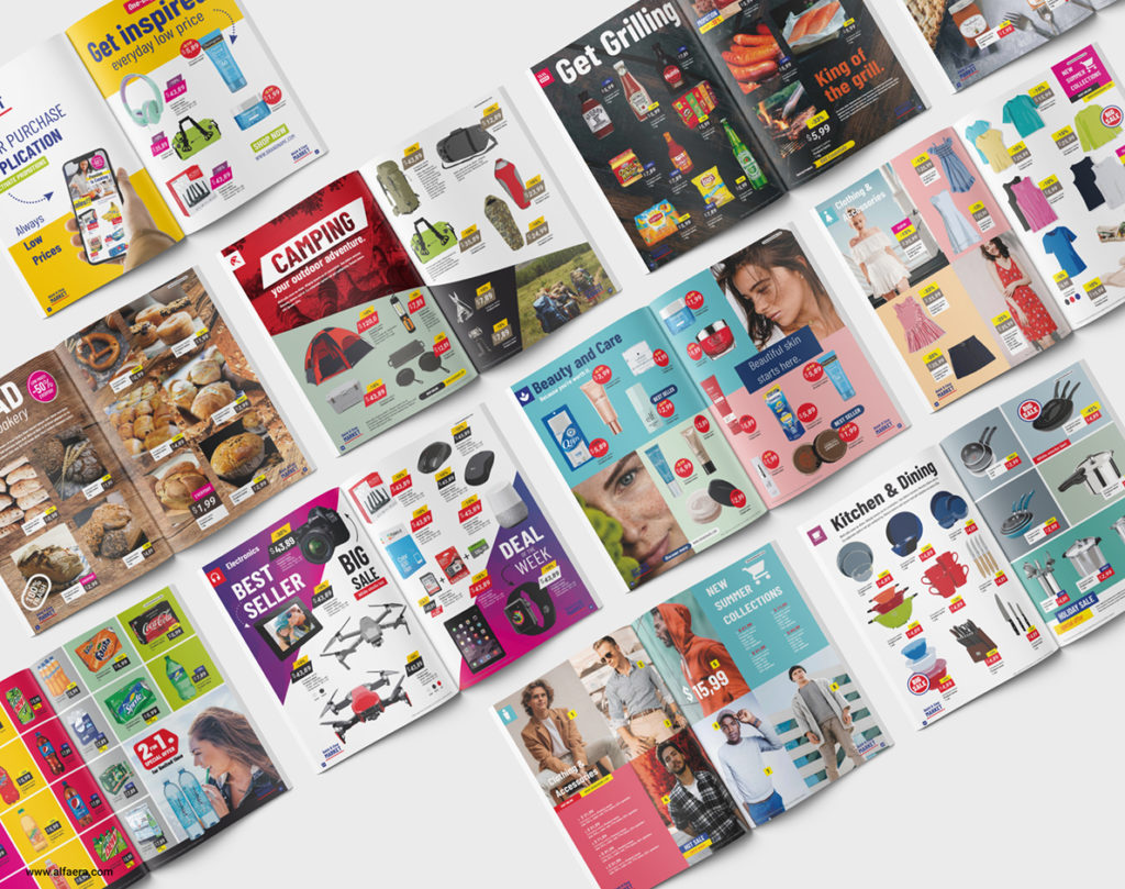 Supermarket Product Catalogue Template