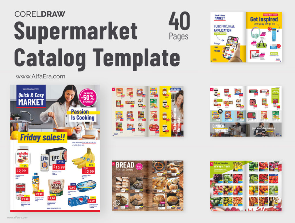 Supermarket Catalog Template
