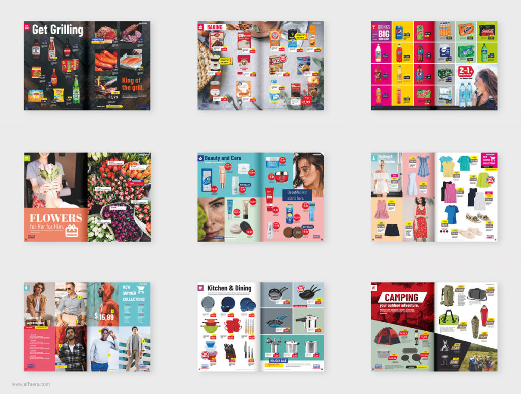 Coreldraw Supermarket Product Catalogue Template