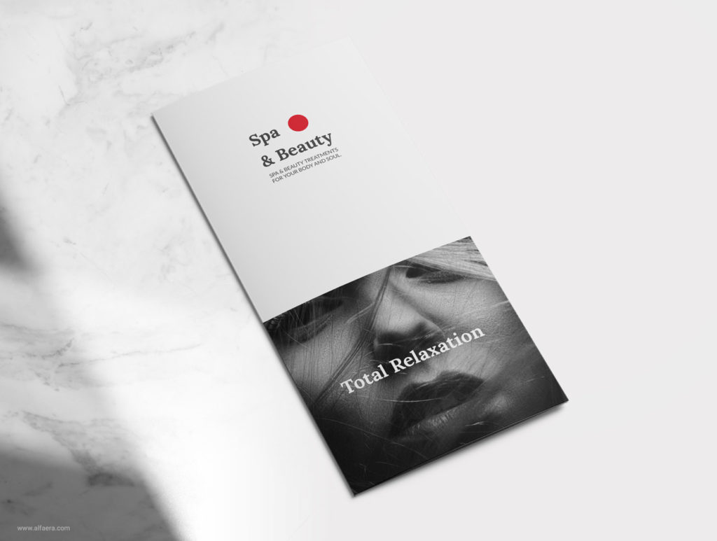 Spa Tri-fold Brochure Template